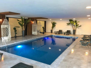 heated sw pool